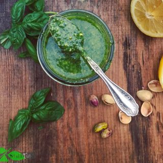Pistachio Pesto from Spinach Tiger