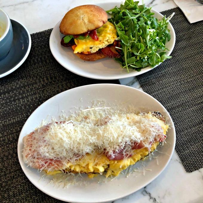 Nashville Brunch: Cafe Roze Scrambled Eggs