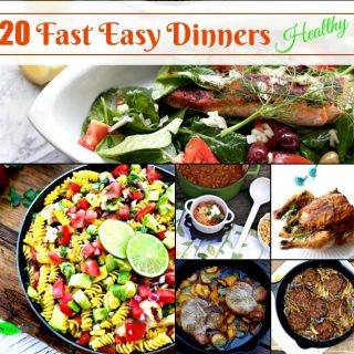 Easy Fast Dinners from Spinach Tiger