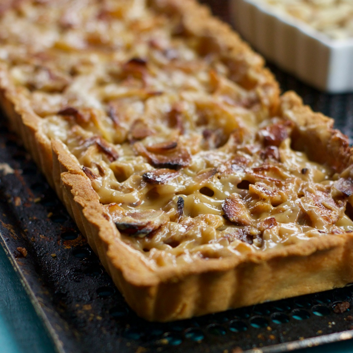 Grain Free Apple Almond Tart