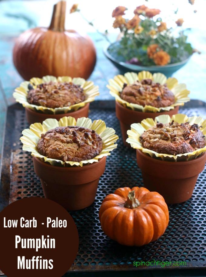 Pumpkin Dessert Recipes Pumpkin Muffins Low Carb
