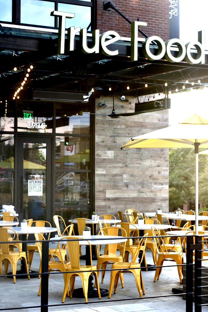 True Food Kitchen Patio from Spinach Tiger