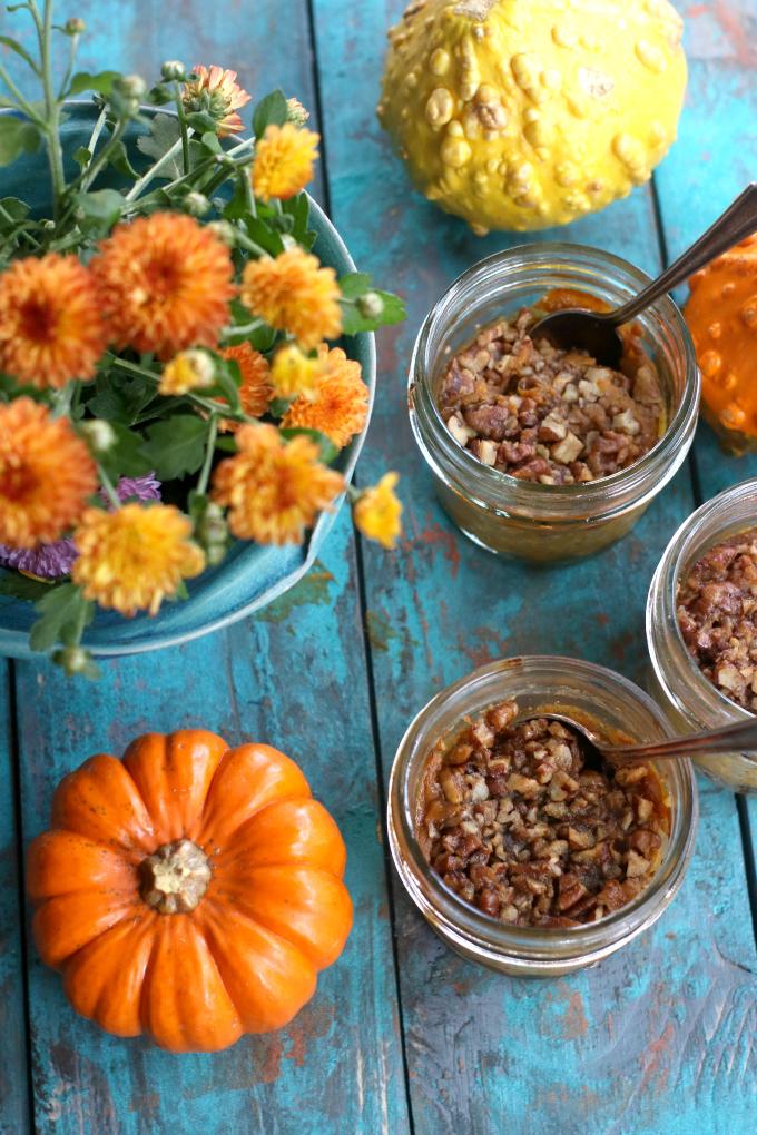 Pumpkin Pie Jars