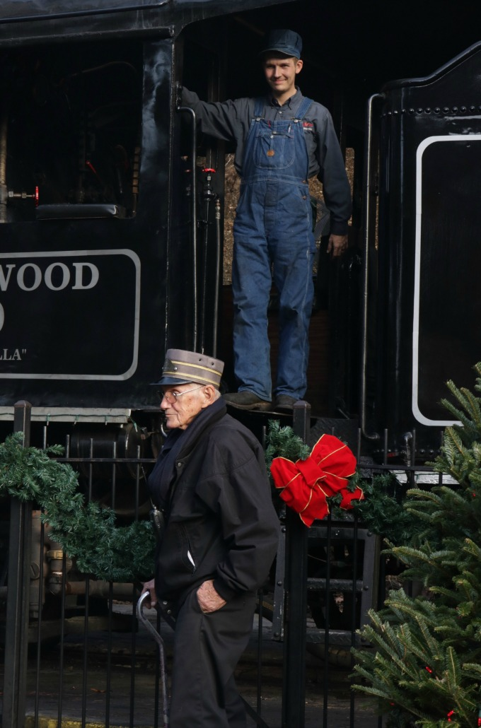 Ride the Train at Christmas at Dollywood from Spinach Tiger
