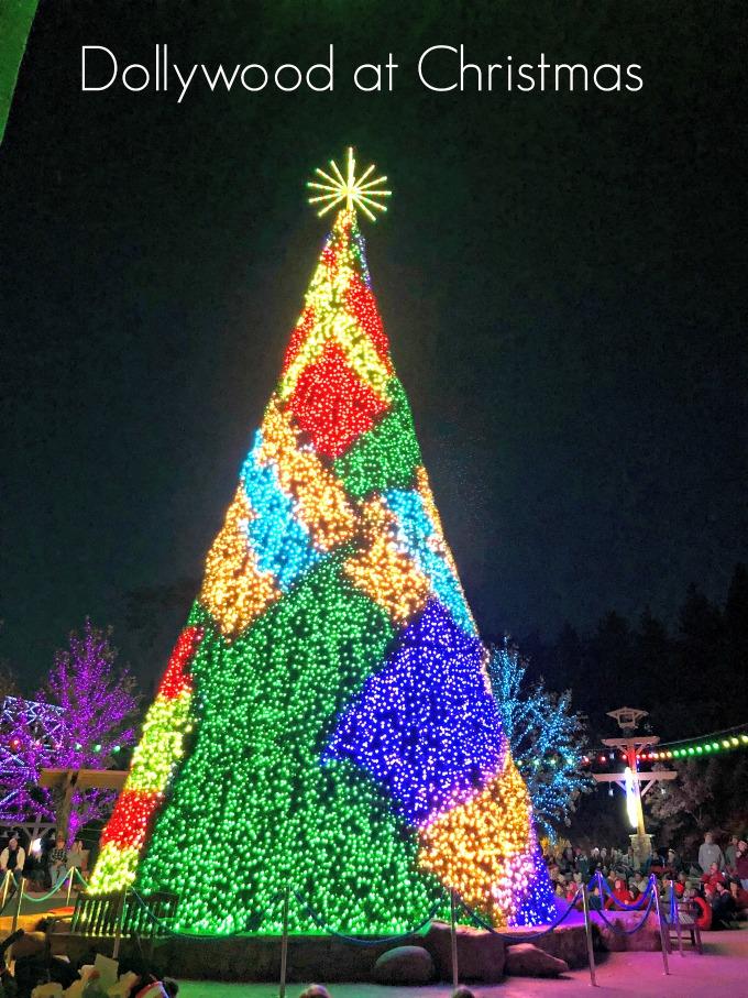 Tree Lighting Christmas at Dollywood