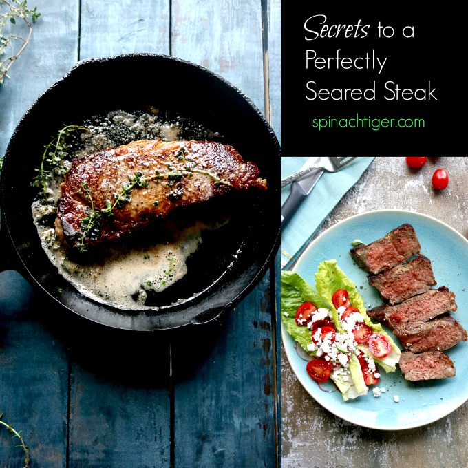 w York Strip Steak Recipe from Spinach Tiger