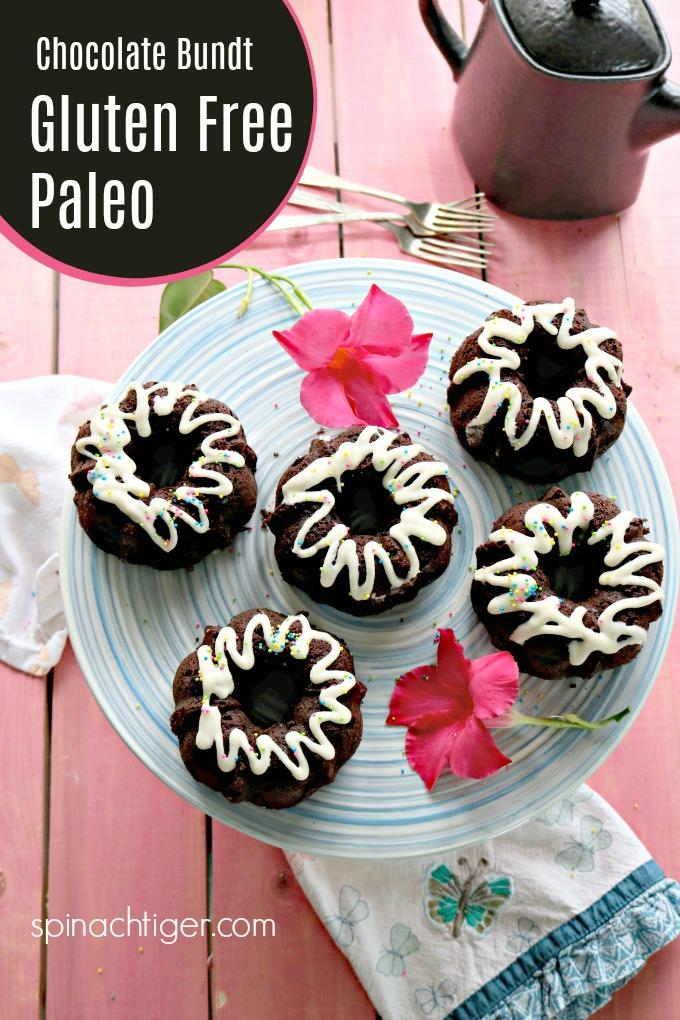 Gluten Free Keto Chocolate Bundt Cake