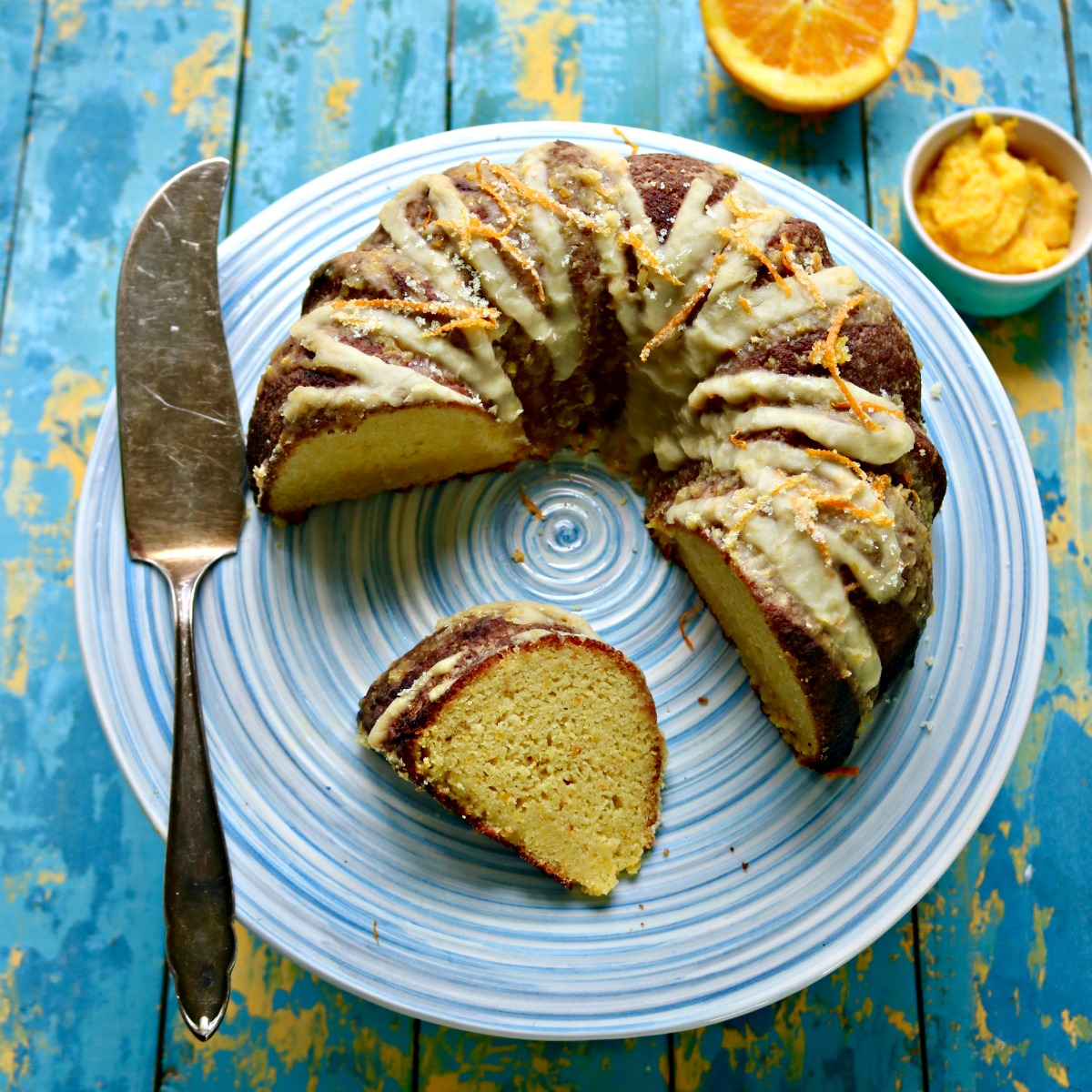 Keto Orange Bundt Cake