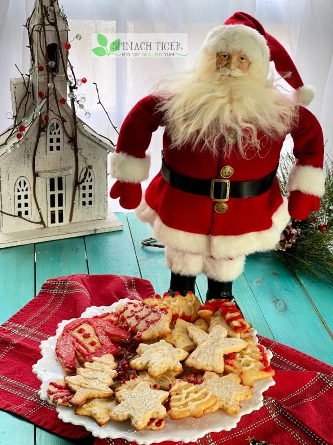 Christmas Keto Sugar Cookies