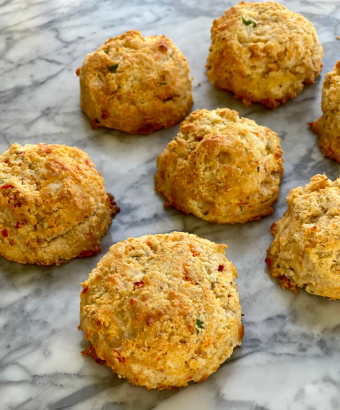 Keto Cheddar Biscuits
