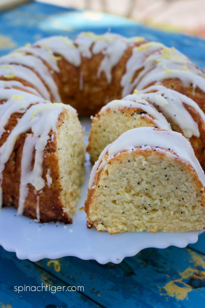 Keto Lemon Poppy Cake