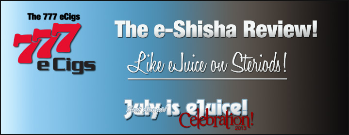 Triple 7 e-Shisha e-Liquids Review