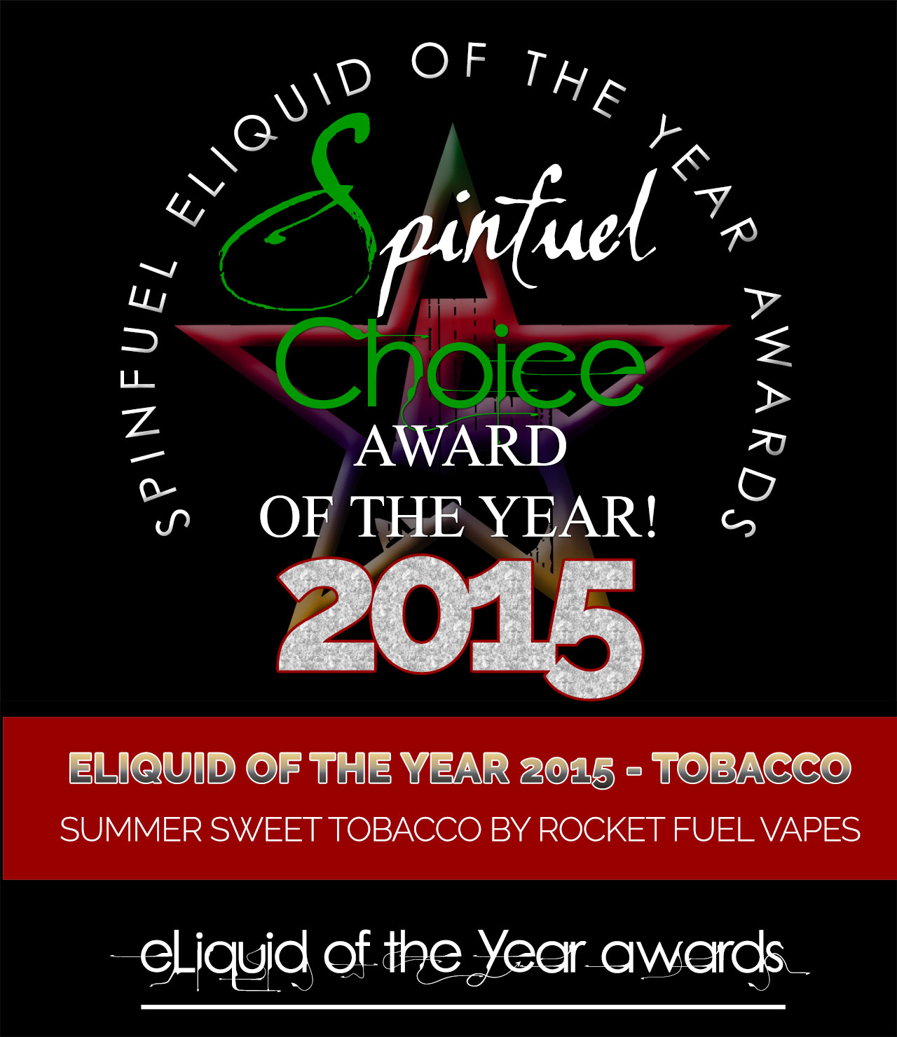 BEST-ELIQUID-TOBACCO-SUMMER Spinfuel Choice Award 2015