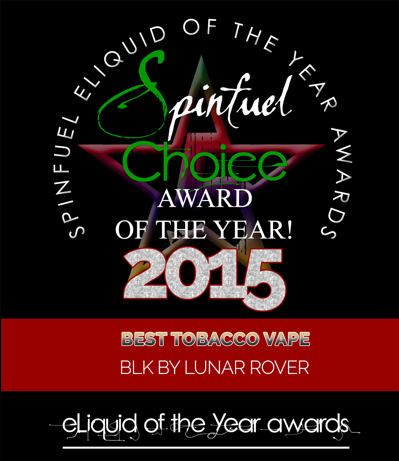 BEST-TOBACCO-BLK Spinfuel Choice Award