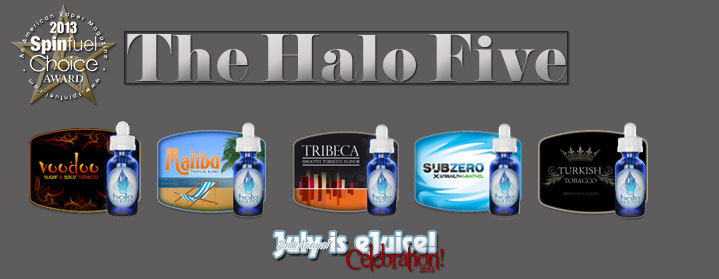 Spinfuel eMagazine e-Liquid Review - Halo Cigs -