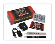 Spinfuel eMagazine reviews the new Triple 7 Magnum Series e-Cigarette Kits