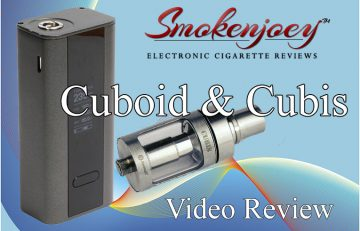 Joyetech Cuboid and Cubis review