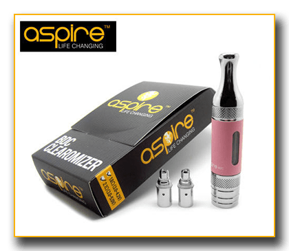 Spinfuel eMagazine reviews the Aspire line of Clearomizers