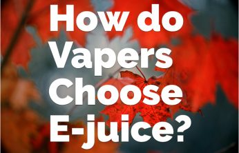 Choosing e-Juice - The How and Why
