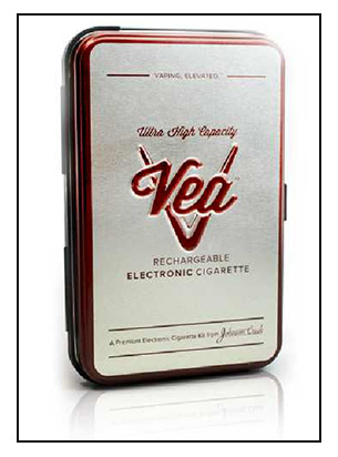 Johnson Creek Vea e-Cigarette Starter Kit Review Spinfuel eMagazine July 2013