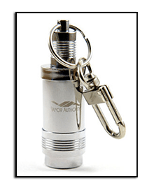 Vapor Authority Stainless Steel Flask