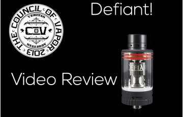 Defiant Sub-Ohm Tank by Council of Vapor