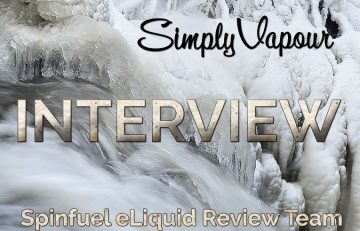 Simply Vapour eLiquid Review A Spinfuel eLiquid Team Review