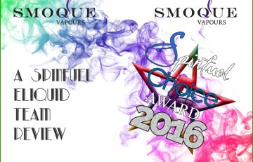 Smoque Vapours – The Sequel Hand-crafted – High VG Dripper Line – Part 2