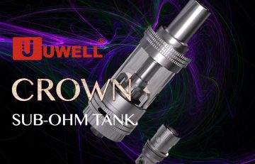 Uwell Crown Sub-Ohm Tank ν Industrial Design • Superb Flavor • Wicked Vapor