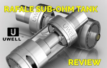 Uwell Rafale Tank Review by Spinfuel eMagazine