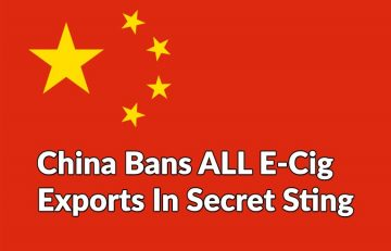 China Bans e-Cig Exports