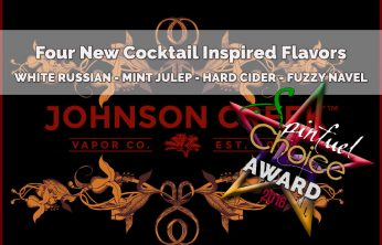 Johnson Creek Vapor Company – Have a Drink, Won't You? A Spinfuel eLiquid Team Review
