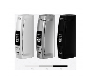 WISMEC Presa 100W TC 100W of Power – 26650/18650 Cell – Temperature Control A Spinfuel eMagazine Review
