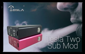 Tesla Two Sub Mod Spinfuel eMagazine Review Unregulated Box Mod 4000mAh
