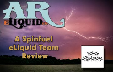 "White Lightning E Liquid by AR eLiquid Arkansas eLiquid Company - ""Our Shine Outshines the Competition"""
