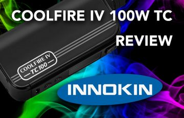 Innokin CoolFire 4 TC100W Aethon Chipset Mod This review covers both the Innokin CoolFire TC100W mod and the new iSub V sub-ohm tank, also from Innokin.