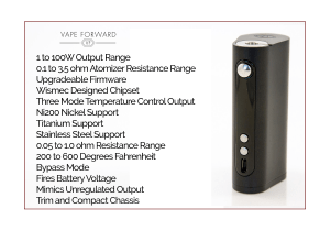 Vape-Forward Vaporflask Stout Review – Spinfuel eMagazine Tom McBride