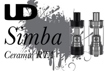 UD Simba Sub-Ohm Ceramic Tank Review by Spinfuel eMagazine