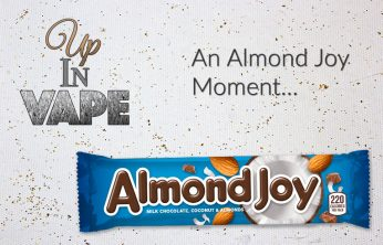 Almond Joy Moment - Spinfuel eMagazine - Up In Vape Tim Timblin
