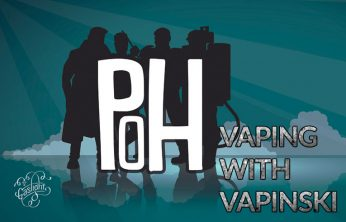 VAPING WITH VAPINSKI REVIEWS PLUMES OF HAZARD – A SPINFUEL ELIQUID REVIEW BY THE FAMOUS VAPINSKI