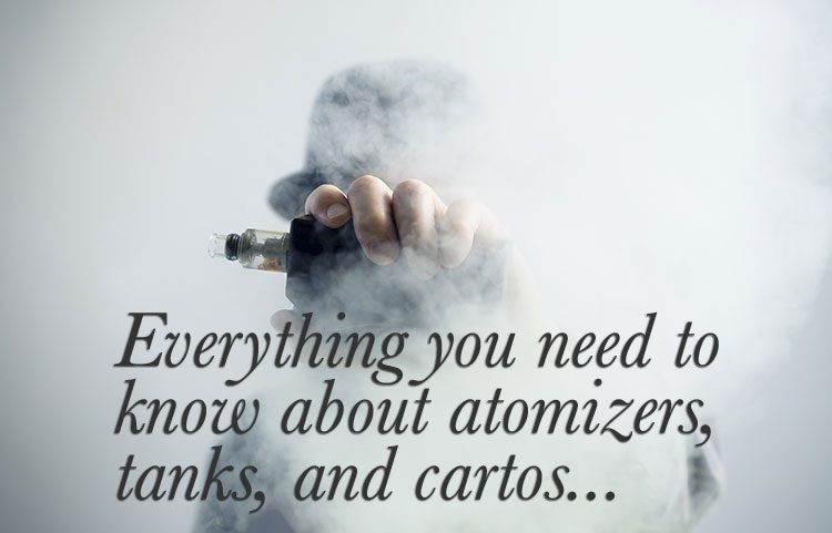 Vapers Guide - Atomizers, tanks, and carrots, New Vapers Guide