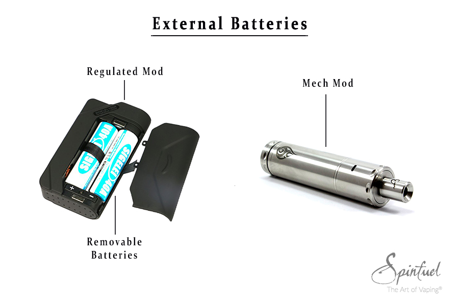 Guide for New Vapers - Batteries