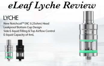 eLeaf Lyche Atomizer Review by Spinfuel eMagazine