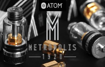 Spinfuel eMagazine and Atom Vapes METROPOLIS Tank Giveaway