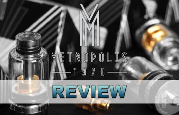ATOM VAPES METROPOLIS TANL REVIEW SPINFUEL EMAGAZINE