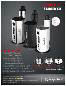 KANGER DRIPBOX 160W REVIEW Spinfuel eMagazine