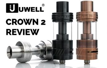 UWELL CROWN 2 REVIEW - SPINFUEL.COM