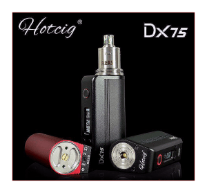 HOTCIG DX75 DNA 75 REVIEW SPINFUEL EMAGAZINE