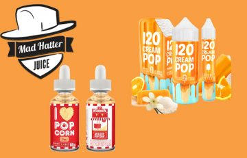 I Love Popcorn and Cream Pop - Mad hatter – Two New Flavors Popcorn and an Orange Cream Spinfuel eMagazine