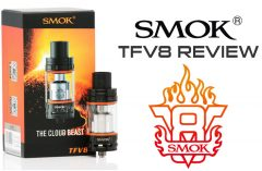 SMOK TFV8 Cloud Beast Tank Review by Spinfuel eMagazine